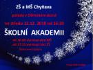 Školní vánoční akademie 1